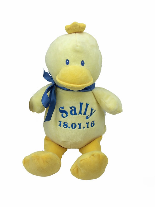 Personalised Yellow Duckling