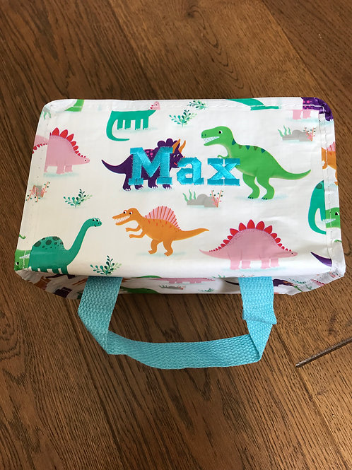Roarsome Dinosaurs Lunch Bag Insulated Lunch Bag