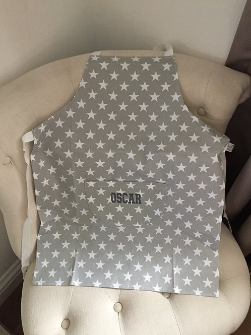 Personalised Nordic Star Childrens Apron