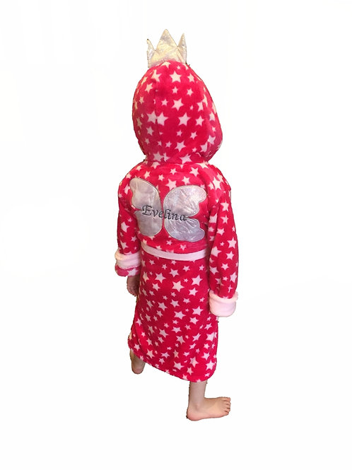 Girls Pink 'Fairy' Dressing gown 2-3 Years