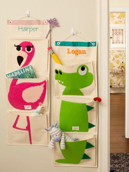 Personalised Flamingo Wall Organsier