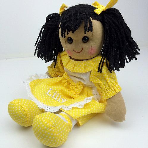 Beautiful Personalised Rag Doll - Daisy