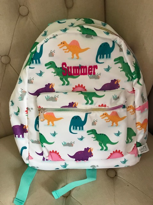 Roasome Personalised Dinosaur Backpack