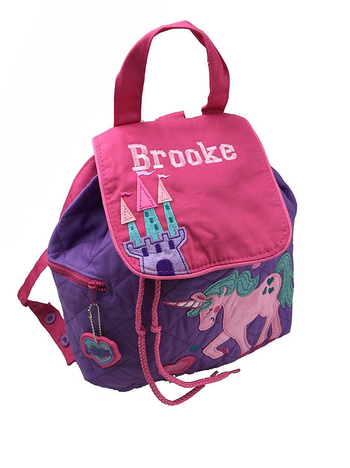 Personalised 'Unicorn' Backpack / Ruck Sack.