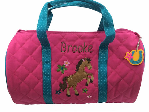 Personalised Pony Duffle Bag