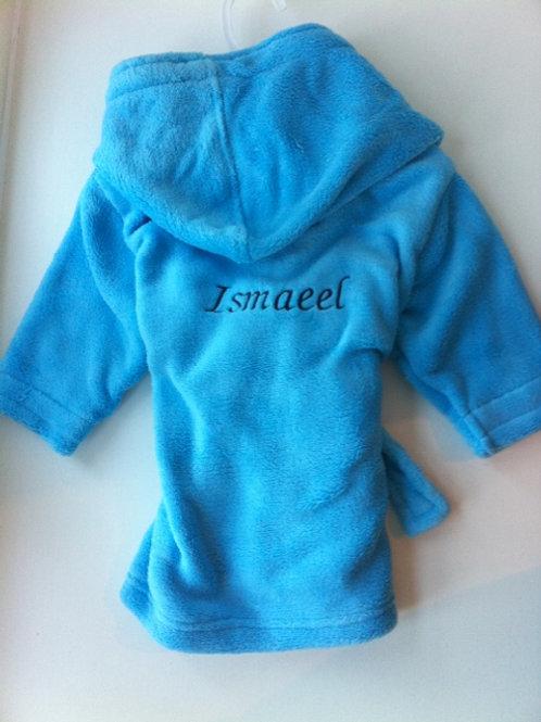 Boys Blue Toddler Dressing Gown