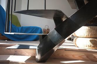 escalier en métal sur mesure vincennes 94