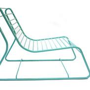 Création chaise extérieure