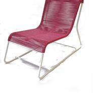Chaise fil de plastique