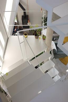 escalier en metal sur mesure sérrurier métallier 94