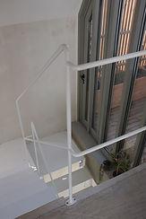 garde-corps en métal escalier paris