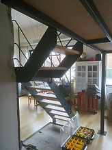 escalier mézzanine montreuil 93