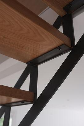 escalier sur mesure métal et bois ferronnier 77