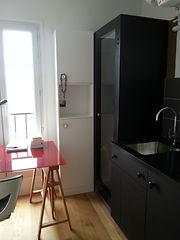 cabine de douche sur mesure acier noir