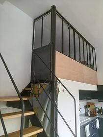 creation mezzanine sur mesure montreuil