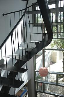 escalier sur mesure en metal montreuil 93