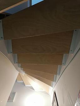 escalier métal et bois férronnier 93