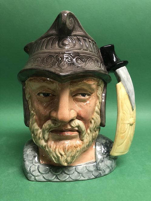 Gladiator character jug by Royal Doulton, D6550