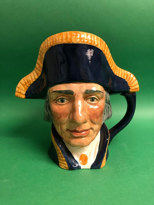 Lord Nelson large character jug by Royal Doulton, D6336