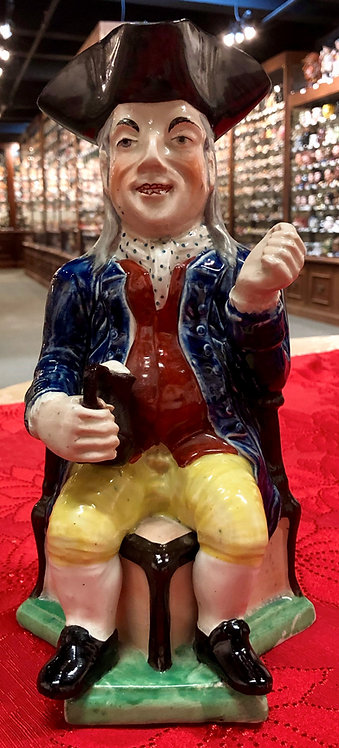 English Squire Toby Jug