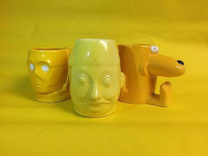 C3PO and Shriner character jugs