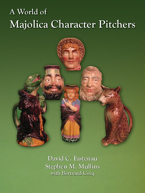 A World of Majolica Character Pitchers reference book