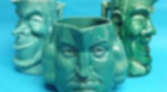 Devonmoor character jugs Widdecombe