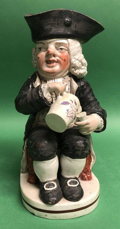 Drunken Parson toby jug circa 1800