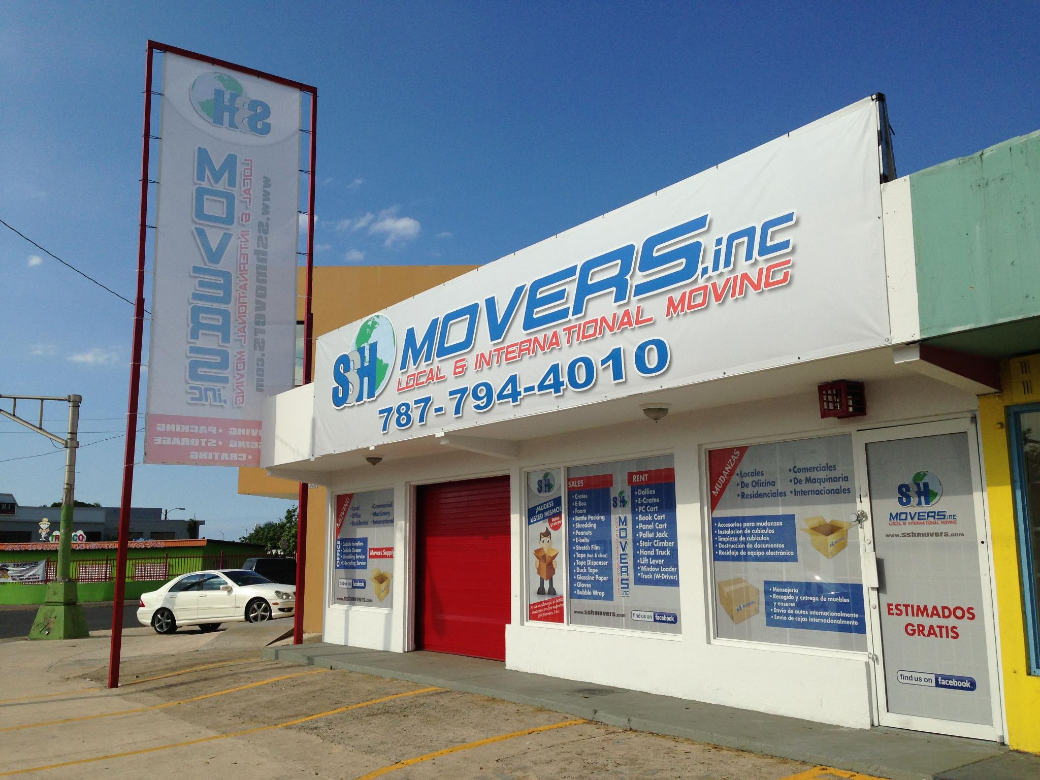 Oficinas de SSH Movers Inc.