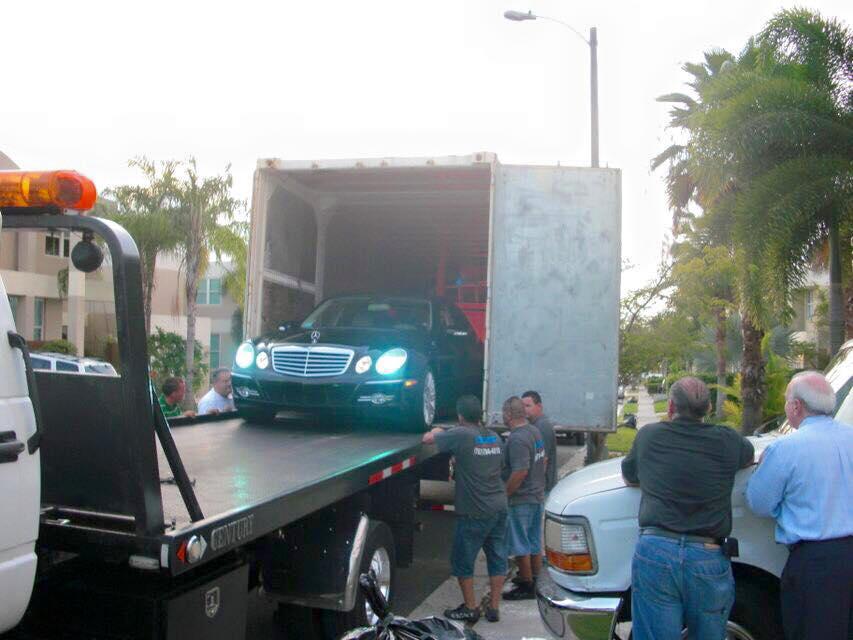 Transportación de vehículos.