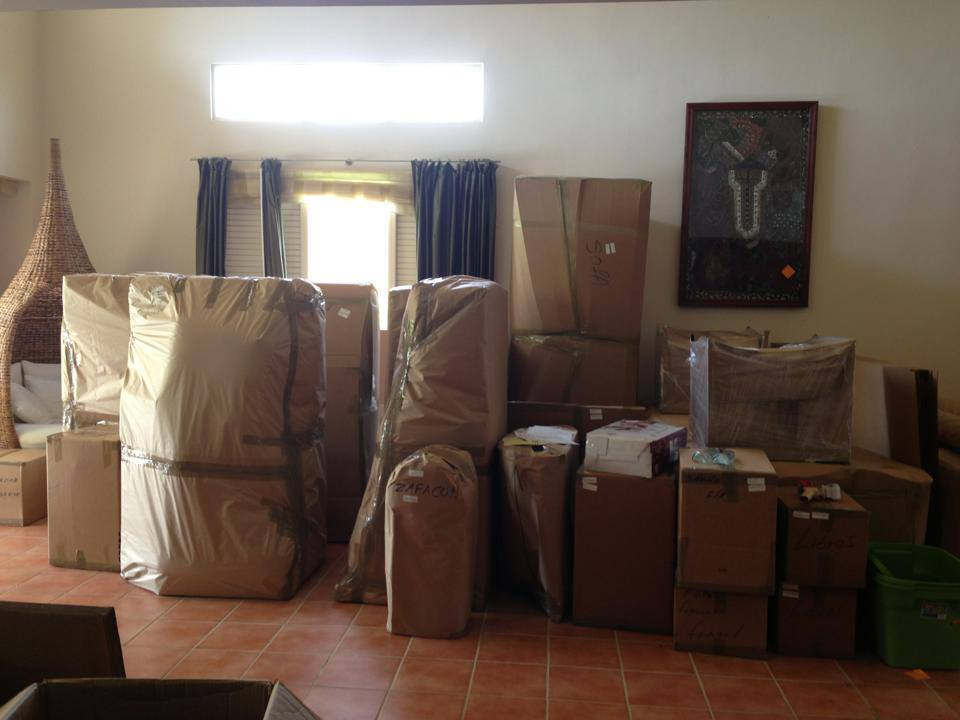 Todo listo para la relocalización.