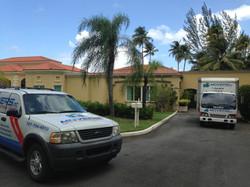 Servicio de mudanza residencial.