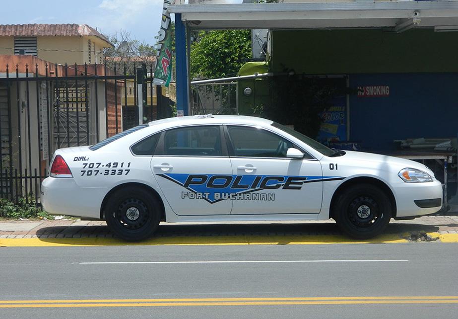 Rotulación de vehículo de Policía