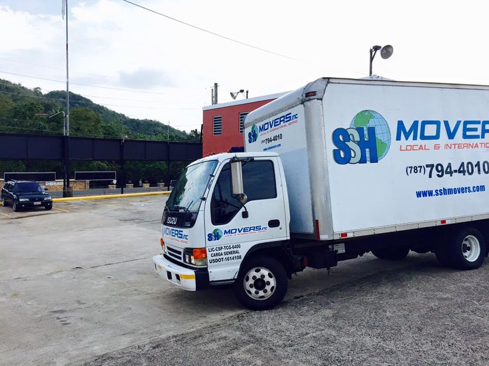 Camión de mudanzas SSH Movers