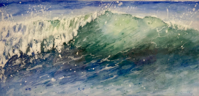 An Autumn Wave- Debbie Lord