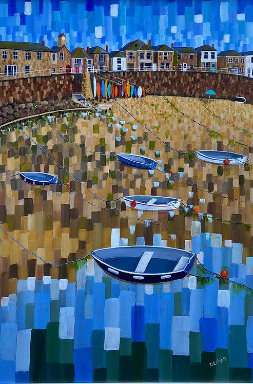 Going afloat in Mousehole- Jeanette Ellison (Gillchrest)
