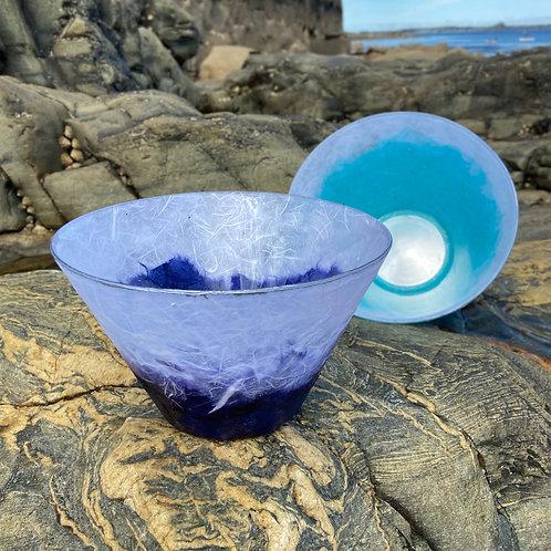 Large Bowl- Silk Fibre Glass