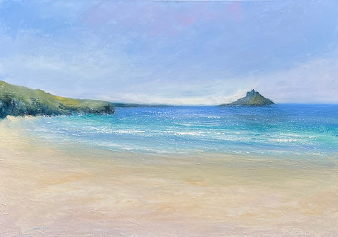 St Michael's Mount- Signed Print