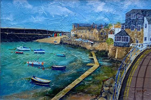 Towards the Wharf- Jeanette Ellison (Gillchrest)