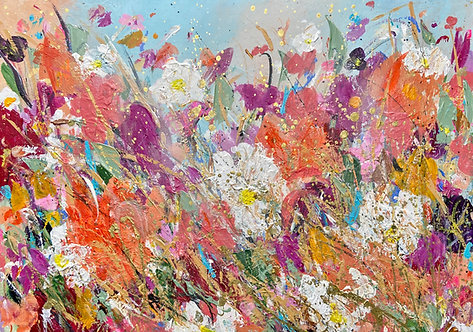 Wildflower Meadow- Signed Print