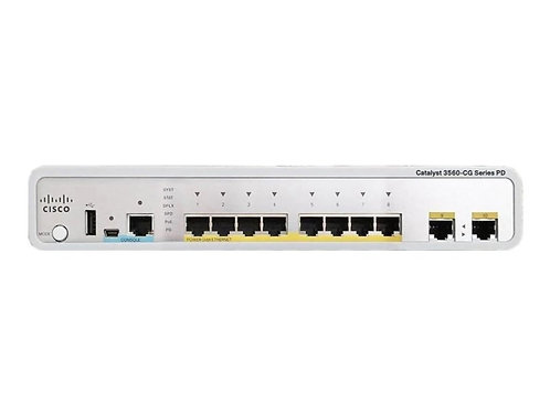 Cisco Systems WS-C3560CPD-8PT-S