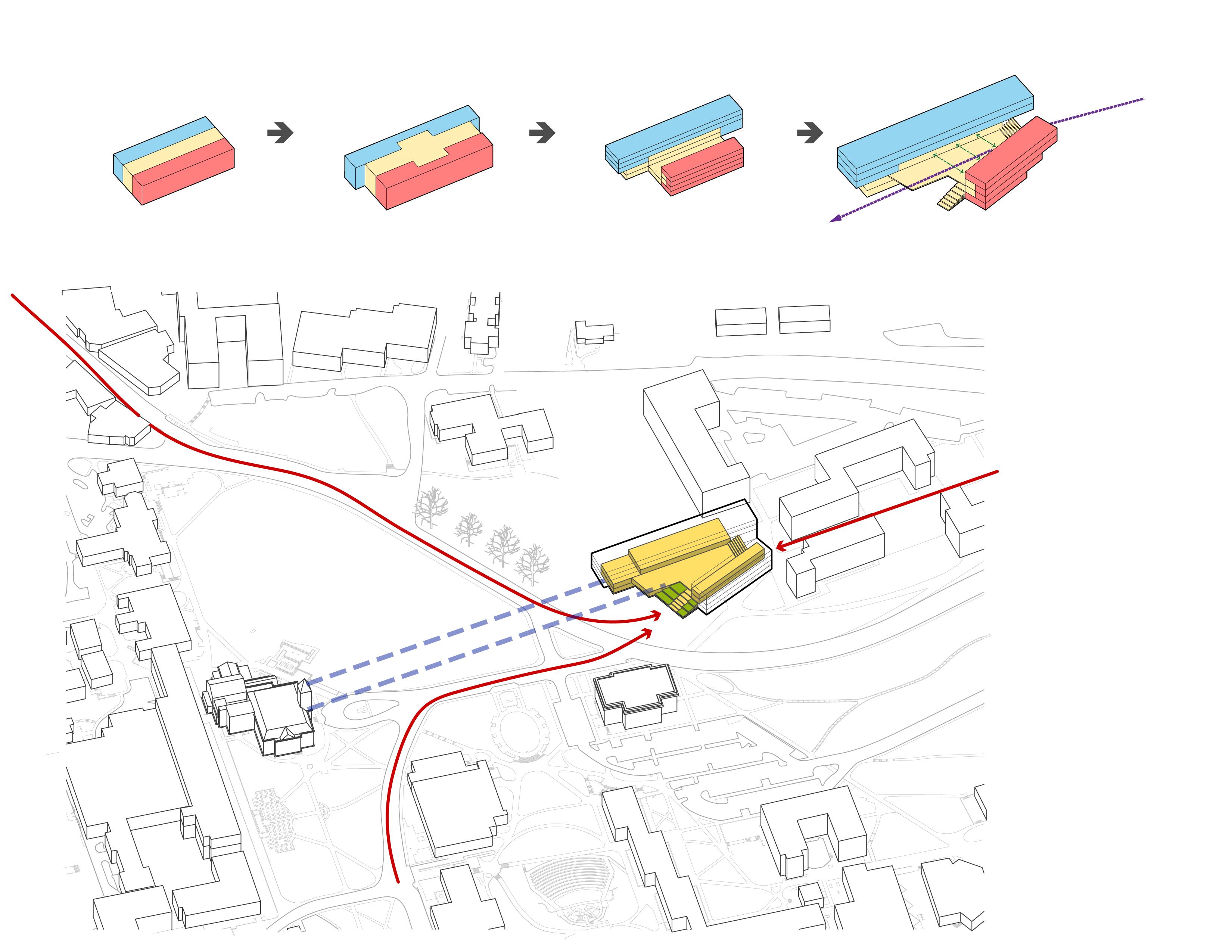 program site diagram-south