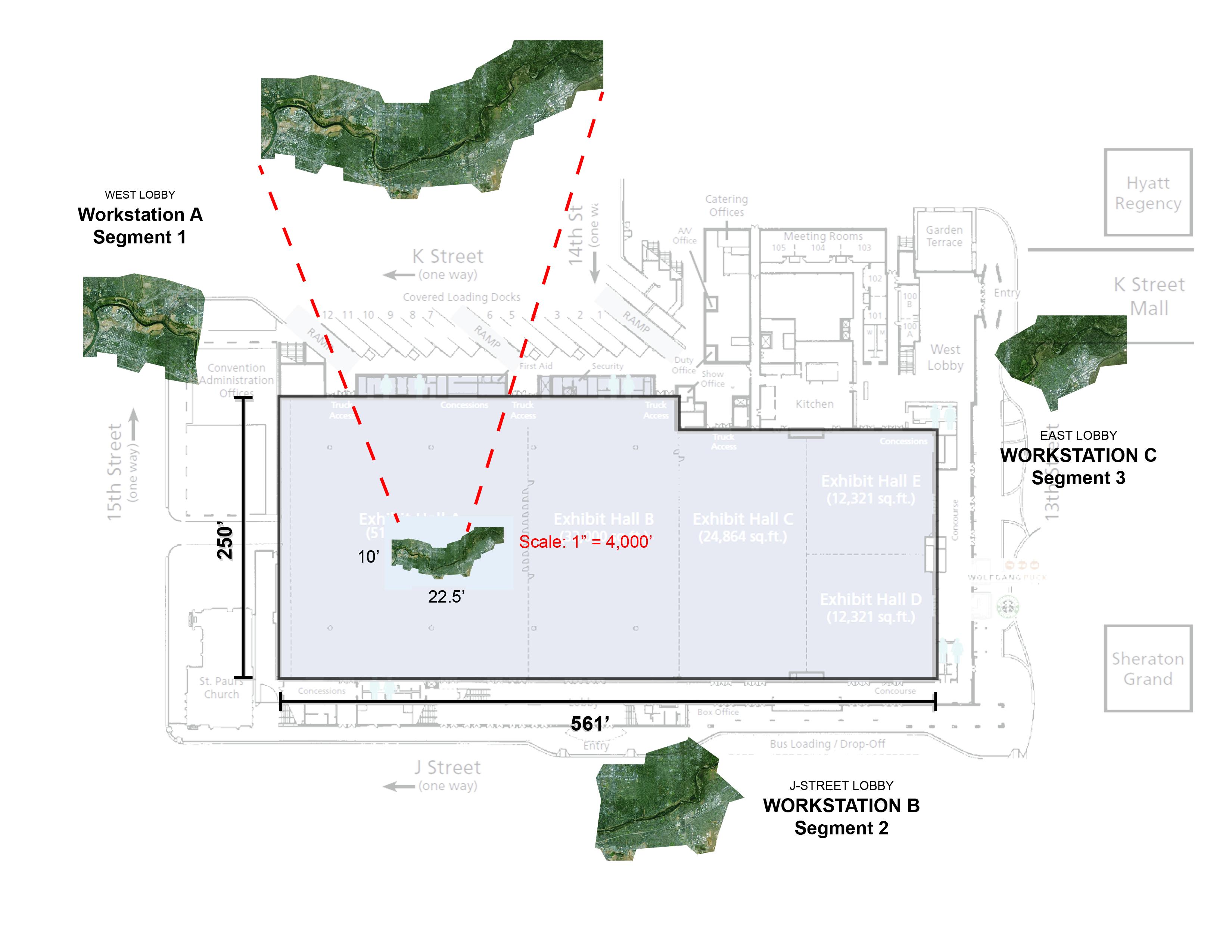ARP floor map