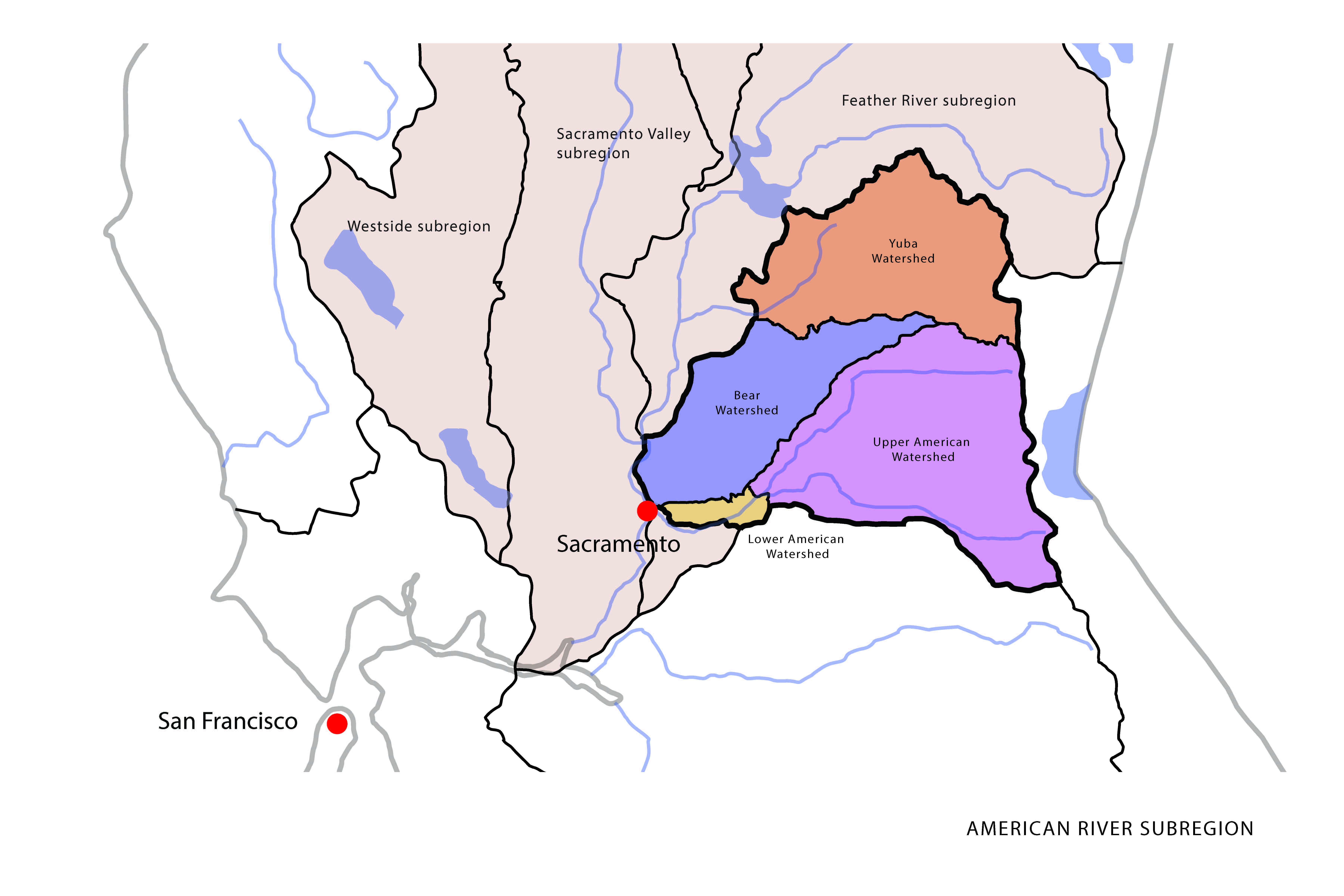 American River Watershed