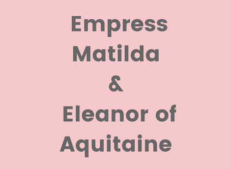 Eleanor and Matilda