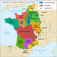 The duchies of medieval France
