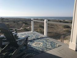 Ocean View from Top Deck