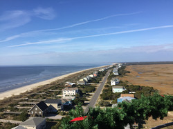 View from Oak Island  Lighthouse