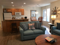 Club Villa Living Room to Kitchen