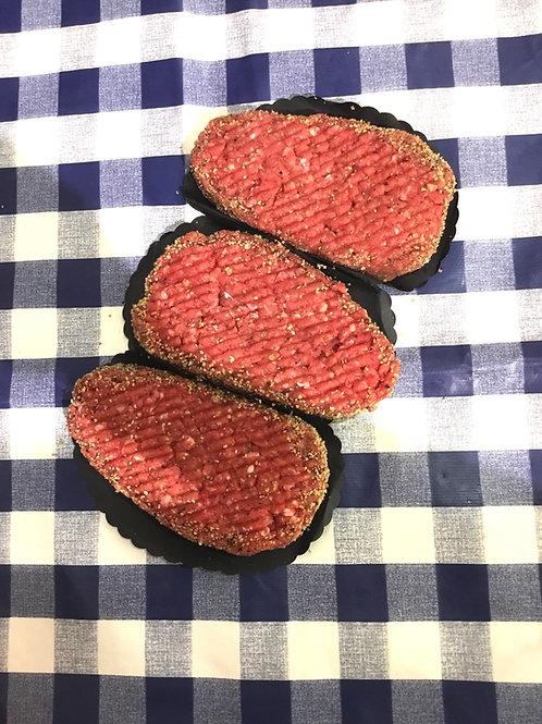 Lemon Peppered Steak Grill